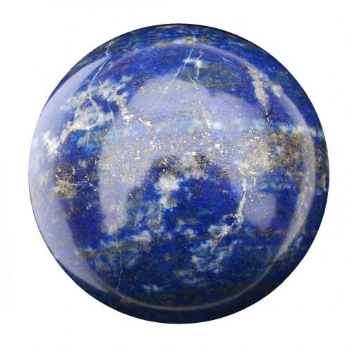 Lapis Lazuli Fortune Telling Crystal Ball Divination Sphere 65mm 430g (LB21)